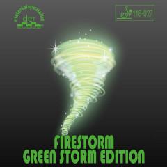 Der Materialspezialist Belag Firestorm Green Storm