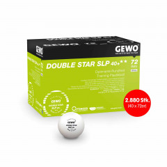 GEWO Ball Double Star SLP40+ 2880 Stk. (40 x 72er)