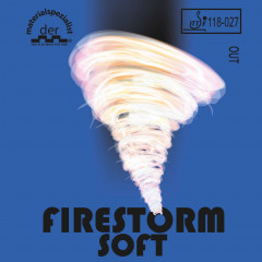 Der Materialspezialist Belag Firestorm Soft